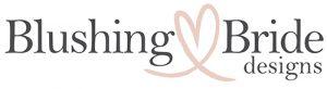 Blushing Bride Designs logo Desktop